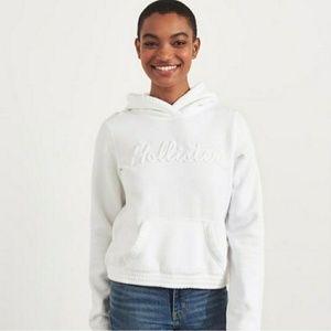 Nwt Womens Hollister Logo Hoodie Sweatshirt